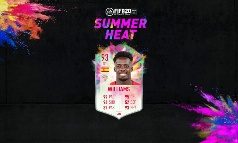 FIFA 20: Isco e Iñaki Williams Summer Heat disponibles en modo Draft