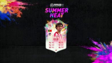 FIFA 20: João Félix y Cristian Tello Summer Heat disponibles en modo Draft