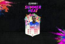 Photo of FIFA 20: Kante y Walker Summer Heat disponibles en modo Draft