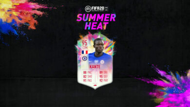 Photo of FIFA 20: Kante y Walker Summer Heat disponibles en modo Draft