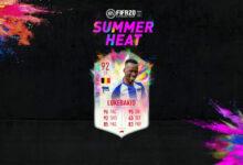 FIFA 20: Lukebakio y St. Juste Summer Heat disponibles en modo Draft