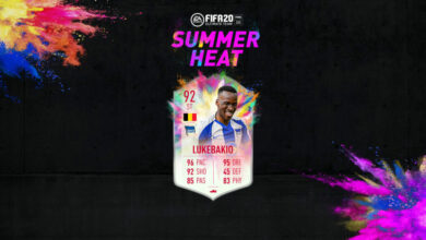 Photo of FIFA 20: Lukebakio y St. Juste Summer Heat disponibles en modo Draft