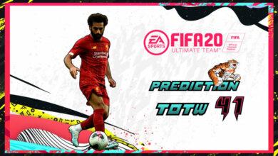 Photo of FIFA 20: Predicción TOTW 41 del modo Ultimate Team