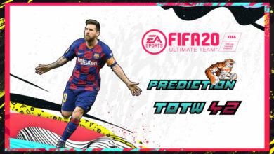 Photo of FIFA 20: Predicción TOTW 42 del modo Ultimate Team