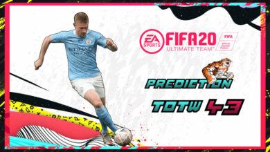 FIFA 20: Predicción TOTW 43 del modo Ultimate Team