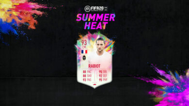 Photo of FIFA 20: Rabiot y Kramaric Summer Heat disponibles en modo Draft