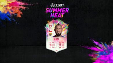 FIFA 20: SBC Arturo Vidal Summer Heat - Un nuevo Pink Creation Challenge está disponible