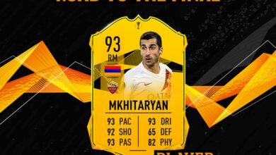 FIFA 20: SBC Henrikh Mkhitaryan camino a la final