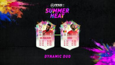 Photo of FIFA 20: SBC Origi y Wijnaldum Summer Heat – Par de ases
