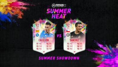 Photo of FIFA 20: Summer Showdown – Callejon vs Sanchez Summer Heat
