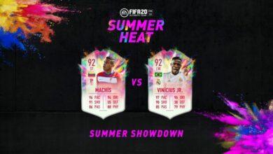 FIFA 20: Summer Showdown - Vinícius Júnior vs Machís Summer Heat