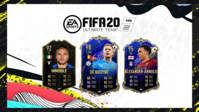 FIFA 20: TOTW 43 anunció el nuevo equipo de la semana