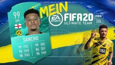 FIFA 20: el equipo ideal de Jadon Sancho para el modo Ultimate Team