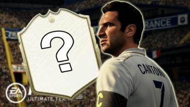 FIFA 21 presenta a Cantona como la primera leyenda: podría ser tan fuerte