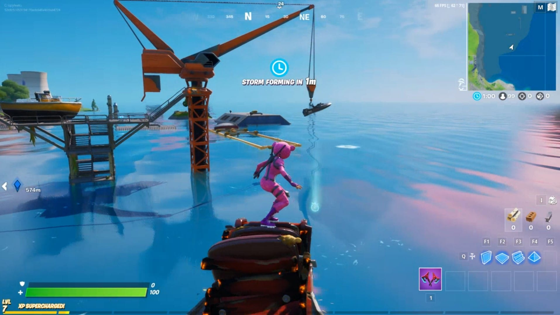 Evento de natación Fortnite Dirty Docks, Semana 4 Aquaman Challenge