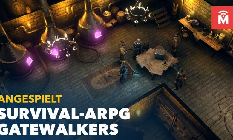 Gatewalkers aludió: finalmente, otro multijugador que depende completamente de PvE