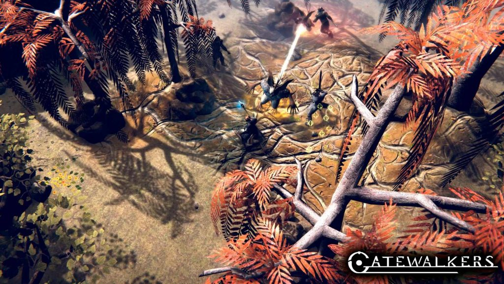 Gatewalkers screenshot mundo tóxico