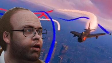 Photo of Gran espectáculo de vuelo en espectáculos de GTA Online: no todos los jugadores son tóxicos