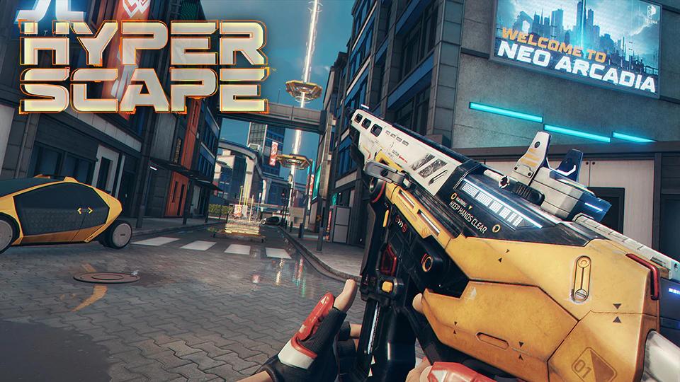 Arma Hyper Scape Neo Arcadia