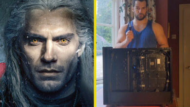 Photo of La estrella de Witcher Henry Cavill construye una PC, esperamos que pronto juegue WoW en Twitch