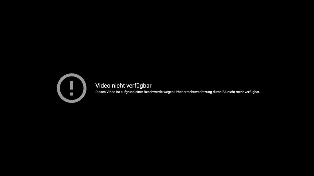 Anuncio de YouTube FIFA 21 Fuga