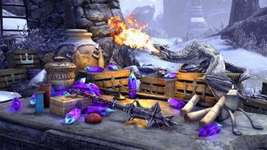 MMORPG ESO te da una mascota que parece un dragón bebé malo pero no es una