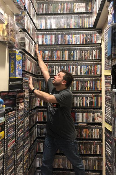 La colección de juegos más grande del mundo.