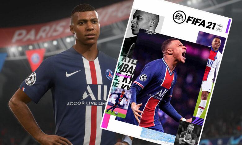 """Mbappé se convierte en la estrella de FIFA 21, dice: """"Es un sueño hecho realidad"""""""