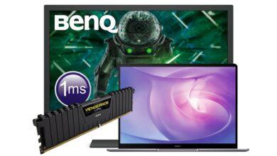 Monitor compatible con juegos, RAM DDR4 y más reducido en Amazon