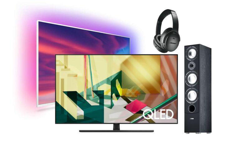 Oferta de TV y audio con Samsung QLED TV y más en Alternate