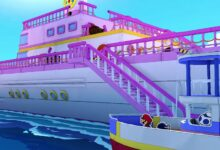 Photo of Paper Mario: El trailer de Origami King muestra el barco de lujo de Princess Peach