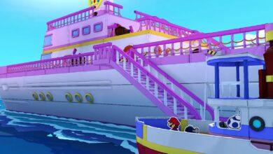 Photo of Paper Mario: El trailer de Origami King muestra el barco de lujo de Princess Peach