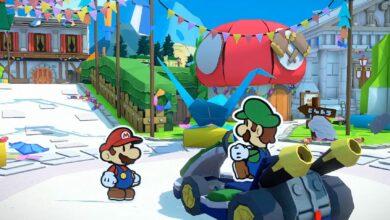 Photo of Paper Mario: The Origami King obtiene un montón de nuevas imágenes de juego durante Nintendo Treehouse Live