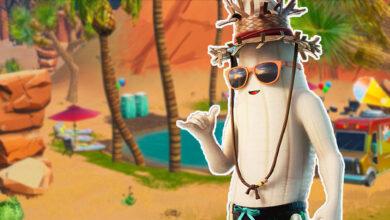 Para las cálidas pieles de verano, un plátano deja caer su piel en Fortnite