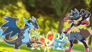 Pokémon GO: nueva imagen oficial muestra Gen 6 y mega desarrollos