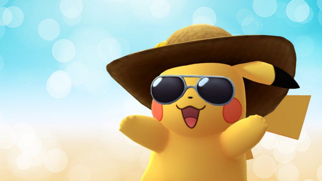 Pikachu de verano