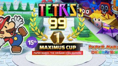 Photo of Próxima Tetris 99 Maximus Cup presentará Paper Mario: The Origami King