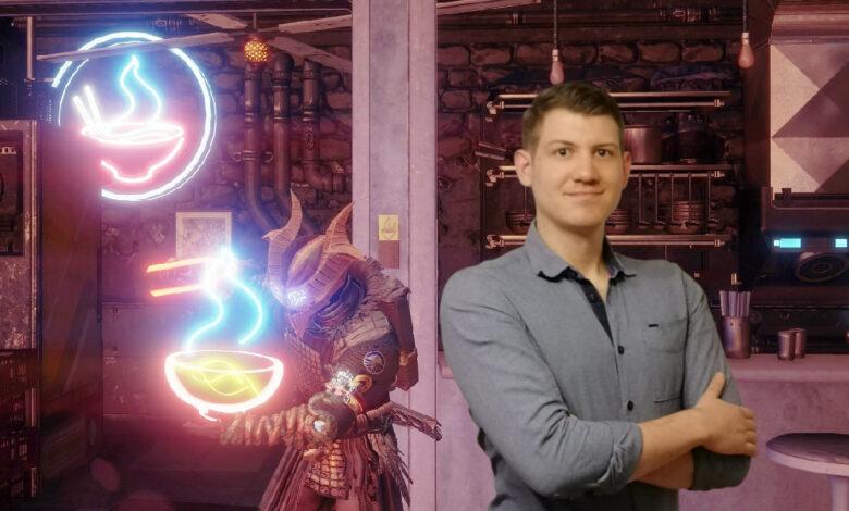 Quiero ser como mi guardián en Destiny 2: finalmente puedo comer como él