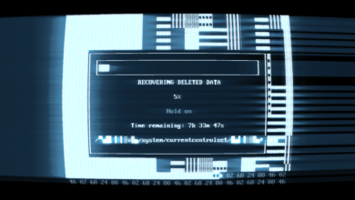 "Photo of SUPERHOT Mind Control Delete: pantalla final ""Recuperación de datos eliminados"" explicada"