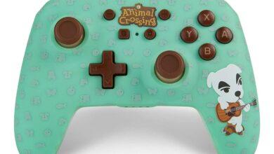 Photo of This Animal Crossing: El controlador deslizante New Horizons KK parece pastel