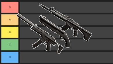 Valorant: lista de niveles de armas: ¿qué cañones son los mejores?