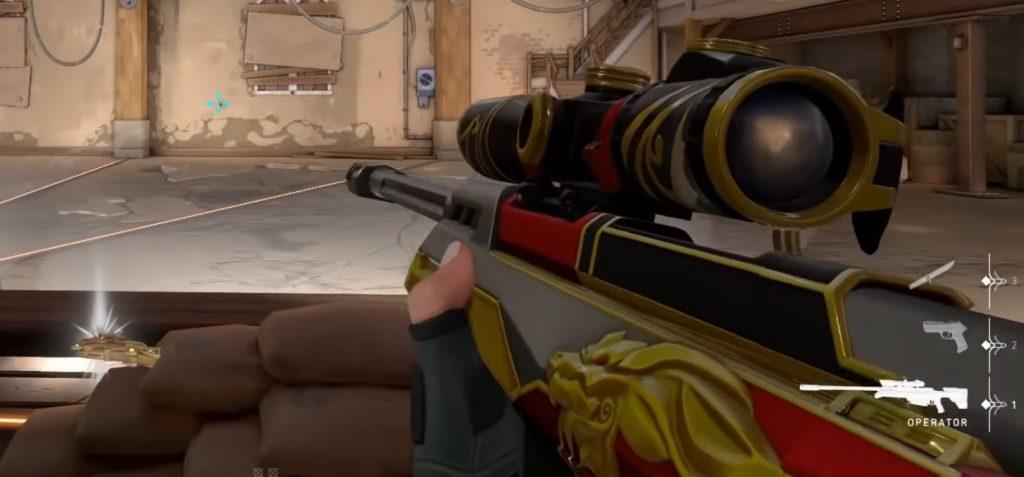 operador de armas valorante