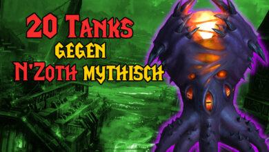 WoW: 20 tanques lo demuestran: incluso el jefe más duro no necesita curanderos o DD