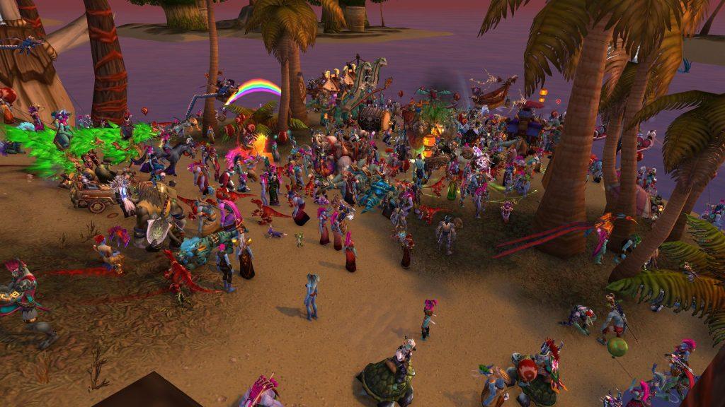 WoW Running de la playa de los Trolls