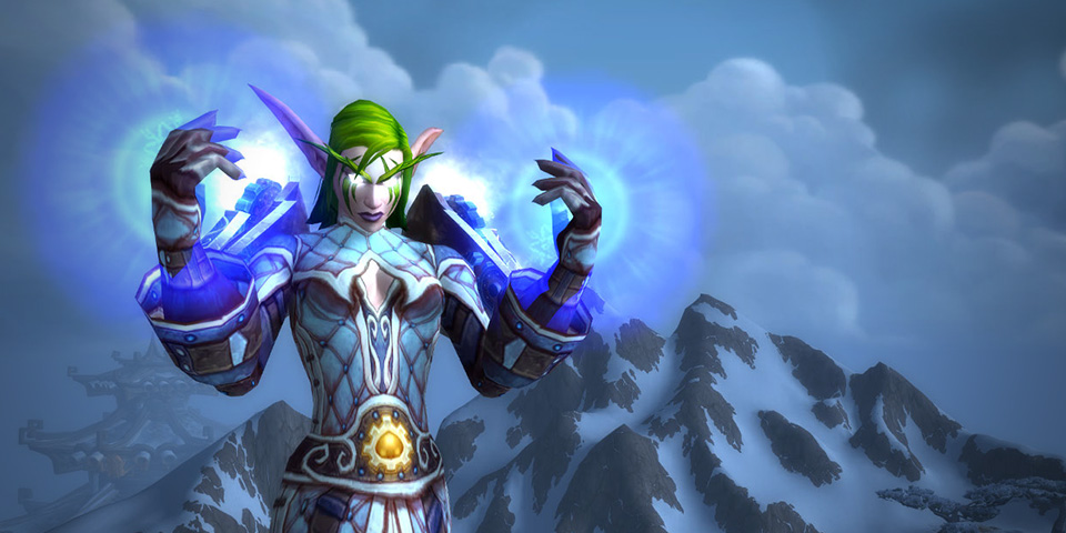 WoW Frost Mage Noche once