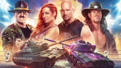 World of Tanks construye 5 tanques después de las estrellas de la WWE: así es como se ve