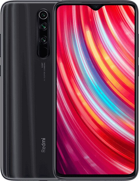 Xiaomi Redmi Note 8 Pro en negro