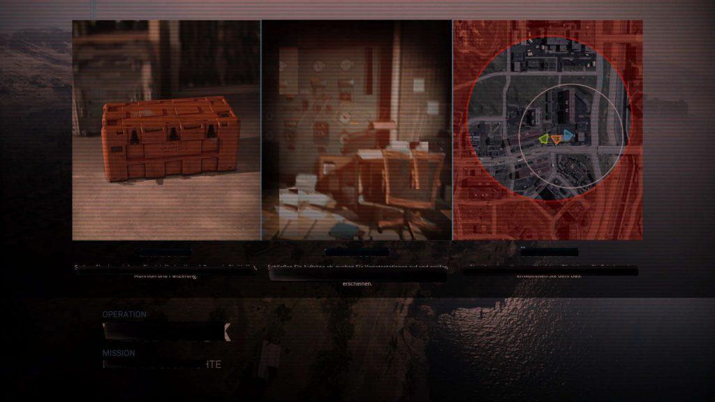 pantalla de carga de evento de revelación de zona de guerra fría de operaciones negras de bacalao
