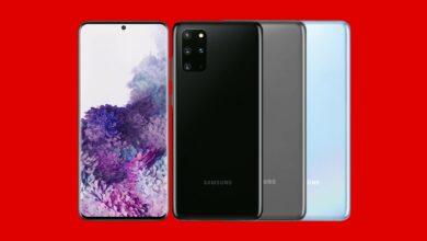 Galaxy S20 + con 10 GB LTE en la red Vodafone barata en MediaMarkt