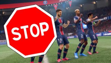 FIFA 21 cambia los aplausos para que los malos ganadores te molesten menos